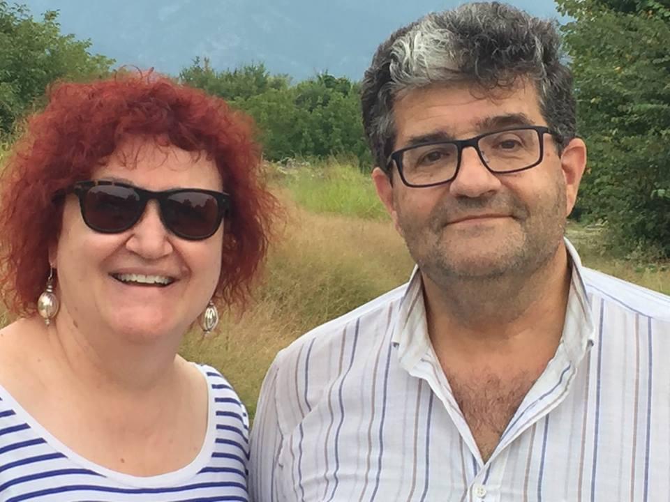 Ιγνάθιο δελ Μοράλ και Μαρία Χατζηεμμανουήλ