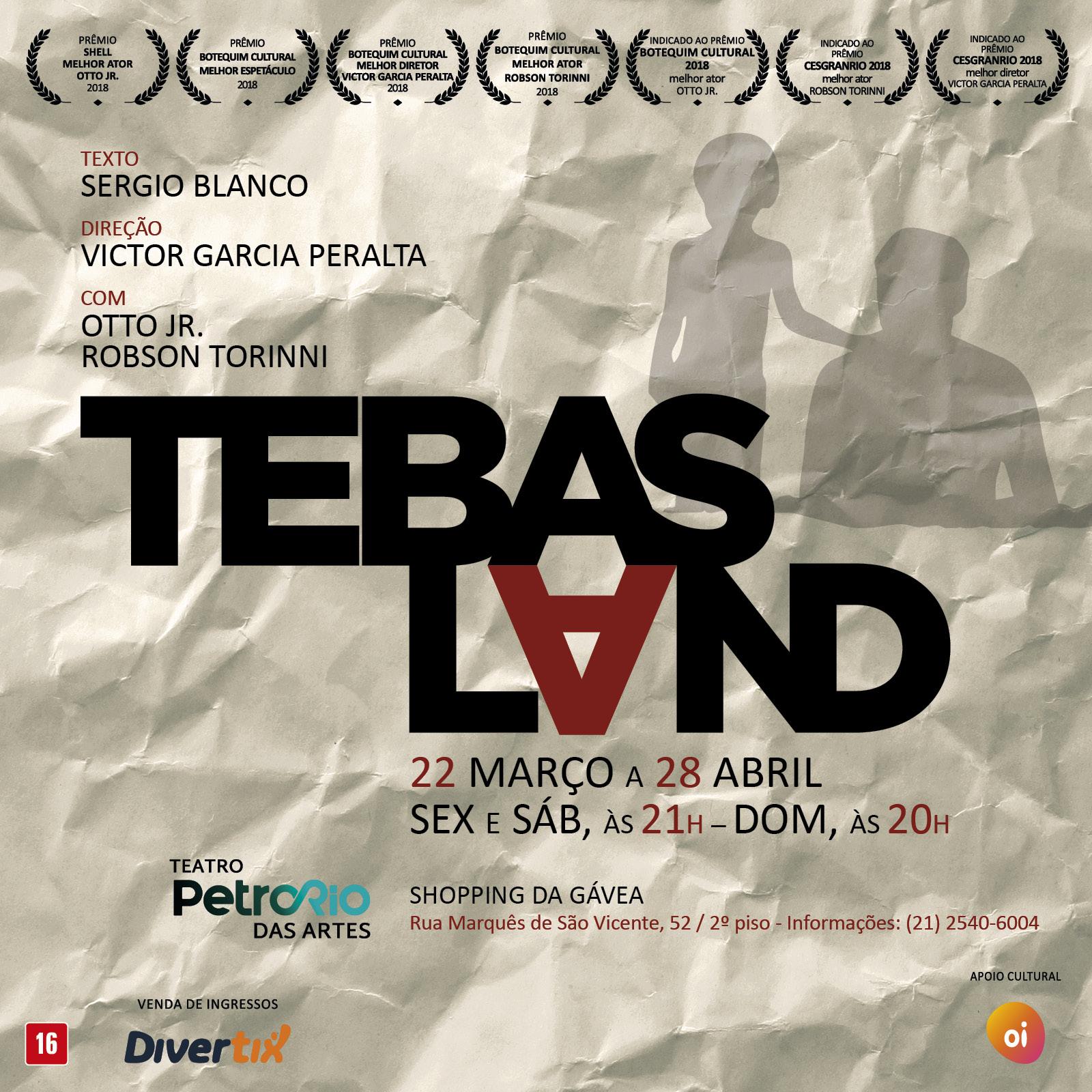 Νέα μετάφραση στο Solo Teatro! Θήβα (Tebas Land) του Σέρχιο Μπλάνκο